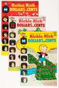 Silver Age (1956-1969):Humor, Richie Rich Dollars and Cents #30-109 File Copy Short Box Group (Harvey, 1976-82) Condition: Average NM-....
