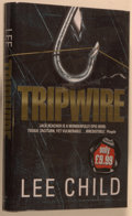 Books:Mystery & Detective Fiction, Lee Child. SIGNED. Tripwire. London: Bantam, [1999]. Firstedition, first printing. Signed by Child on title pag...