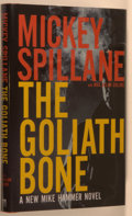 Books:Mystery & Detective Fiction, Mickey Spillane with Max Allan Collins. The Goliath Bone.Orlando: Harcourt, [2008]. First edition, first printing. ...