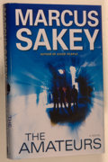 Books:Mystery & Detective Fiction, Marcus Sakey. SIGNED. The Amateurs. [New York]: Dutton,[2009]. First edition, first printing. Signed by Sakey o...