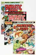 Bronze Age (1970-1979):Superhero, Fantastic Four Group (Marvel, 1975-77) Condition: Average VF+.... (Total: 10 Comic Books)