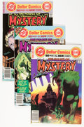 Bronze Age (1970-1979):Horror, House of Mystery Group (DC, 1977-78) Condition: Average VF+....(Total: 8 Comic Books)