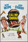 "Movie Posters:Comedy, Call Me Bwana (Rank, 1963). British One Sheet (27"" X 40.5"").Comedy.. ..."