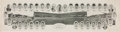 Baseball Collectibles:Others, 1929 Chicago Cubs Panoramic Composite....