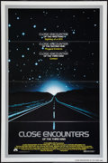 """Movie Posters:Science Fiction, Close Encounters of the Third Kind (Columbia, 1977). One Sheet (27"""" X 41"""") Flat Folded. Science Fiction.. ..."""