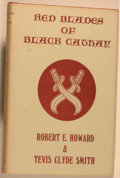 Books:Science Fiction & Fantasy, Robert E. Howard and Tevis Clyde Smith. Red Blades of Black Cathay. West Kingston: Grant, 1971. First edition, first...