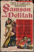 """Movie Posters:Adventure, Samson and Delilah (Paramount, 1949). One Sheet (26"""" X 39"""").Adventure.. ..."""