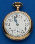 Timepieces:Pocket (post 1900), Hamilton 21 Jewel 16 Size 992 Pocket Watch. ...