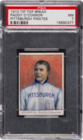 Baseball Cards:Singles (Pre-1930), 1910 D322 Tip Top Bread Paddy O'Connor PSA NM 7 - Pop One, HighestGrade Known....