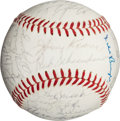 Autographs:Baseballs, 1964 St. Louis Cardinals Team Signed Baseball....