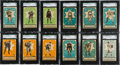 Hockey Cards:Sets, 1933 V304A O-Pee-Chee SGC Graded Complete Set (48) - #1 on the SGC Set Registry. ...