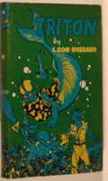 Books:Science Fiction & Fantasy, L. Ron Hubbard. Triton. Los Angeles: Fantasy Publishing, 1949. First edition, first printing. Currey binding (A)...