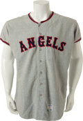 Baseball Collectibles:Uniforms, 1967 Jack Hamilton California Angels Game Worn Jersey....
