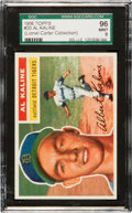 Baseball Cards:Singles (1950-1959), 1956 Topps Al Kaline #20 SGC 96 Mint 9 - Pop Three, None Higher!...