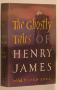 Books:Horror & Supernatural, Henry James. Leon Edel [editor]. The Ghostly Stories of HenryJames. New Brunswick: Rutgers, 1948. First edition...