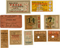 Baseball Collectibles:Others, 1920's-1930's Ticket and Press Pass Collection Lot of 40....