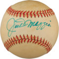 Autographs:Baseballs, 1970's Joe DiMaggio Single Signed Baseball....