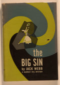 Books:Mystery & Detective Fiction, Jack Webb. The Big Sin. New York: Rinehart, [1952]. Firstedition, first printing. Octavo. 246 pages. Publisher'...