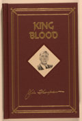 Books:Mystery & Detective Fiction, Jim Thompson. James Ellroy [introduction]. SIGNED/LIMITED. King Blood. New York: Armchair Detective Library, [1993]. First A...