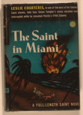 Books:Mystery & Detective Fiction, Leslie Charteris. The Saint in Miami. Philadelphia:Triangle, [1944]. Later edition. Twelvemo. 299 pages. Publisher'...