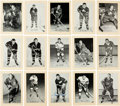 Hockey Collectibles:Photos, 1950's and 1960's Hockey Greats Signed Bee Hive Photographs Lot of36....