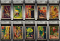 "Non-Sport Cards:Sets, 1957-58 R714-20a Topps ""Space Cards"" Complete Set (88) - Most GAI Graded. ..."