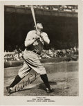 Autographs:Photos, 1940's Babe Ruth Signed Promotional Photograph....