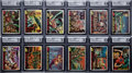 "Non-Sport Cards:Sets, 1962 Topps ""Mars Attacks"" GAI Graded Complete Set (55). ..."