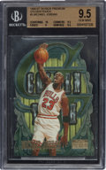 "Basketball Cards:Singles (1980-Now), 1996/97 Skybox Premium ""Golden Touch"" Michael Jordan #5 BGS Gem Mint 9.5. ..."