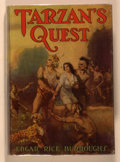 Books:Science Fiction & Fantasy, Edgar Rice Burroughs. Tarzan's Quest. Tarzana: Edgar Rice Burroughs, [1936]. First edition, first printing. Octavo. ...