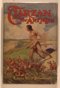 Books:Science Fiction & Fantasy, Edgar Rice Burroughs. Tarzan and the Ant Men. Chicago: McClurg, 1924. First edition, first printing. Octavo. 346, [4...