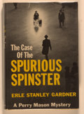 Books:Mystery & Detective Fiction, Erle Stanley Gardner. The Case of the Spurious Spinster. NewYork: Morrow, [1961]. First edition, first printing...