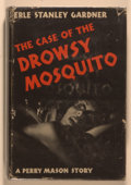 Books:Mystery & Detective Fiction, Erle Stanley Gardner. The Case of the Drowsy Mosquito. NewYork: Morrow, 1943. First edition, first printing. Twelve...