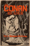 Books:Science Fiction & Fantasy, Roy G. Krenkel and Bernie Wrightson [illustrators]. L. Sprague de Camp. LIMITED. The Conan Reader. Baltimore: Mirage...