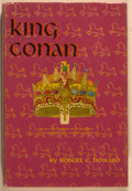 Books:Science Fiction & Fantasy, Robert E. Howard. King Conan. New York: Gnome, [1953]. First edition, first printing. Octavo. 255 pages. Publisher's...