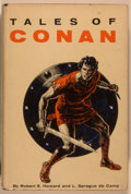 Books:Science Fiction & Fantasy, Robert E. Howard and L. Sprague de Camp. Tales of Conan. New York: Gnome Press, [1955]. First edition, first pri...