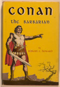 Books:Science Fiction & Fantasy, Robert E. Howard. Conan the Barbarian. New York: Gnome, [1954]. First edition, first printing. Octavo. 224 pages. Pu...