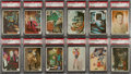 "Non-Sport Cards:Sets, 1966 Topps ""Batman - Color Photos"" High Grade Complete Set (55),Wrapper and Album - From Freshly Opened Packs! ..."