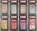 Baseball Collectibles:Tickets, 1950's World Series Ticket Stubs Lot of 8....