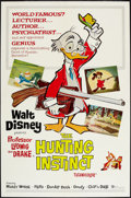 "Movie Posters:Animation, The Hunting Instinct (Buena Vista, 1961). One Sheet (27"" X 41"").Animation.. ..."