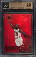 "Basketball Cards:Singles (1980-Now), 1997/98 Metal Universe ""Precious Metal Gems"" Michael Jordan Red #23BGS Gem Mint 9.5. ..."