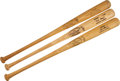 Baseball Collectibles:Bats, 1960's Game Issued Bats from Carew, Killebrew and Allison Lot of 3....