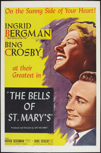 """The Bells of St. Mary's (NTA Pictures, R-1957). One Sheet (27"""" X 41""""). Drama"""