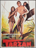 "Movie Posters:Adventure, Tarzan Festival Poster (MGM, 1969). French Grande (46"" X 62"").Adventure.. ..."