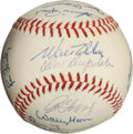 Autographs:Baseballs, 1965 Los Angeles Dodgers Team Signed Baseball....