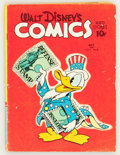 Golden Age (1938-1955):Cartoon Character, Walt Disney's Comics and Stories #20 (Dell, 1942) Condition:GD/VG....