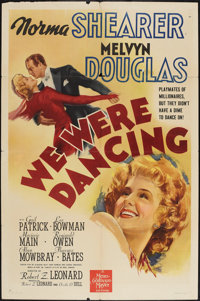 """We Were Dancing (MGM, 1942). One Sheet (27"""" X 41"""") Style D. Comedy"""