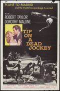 """Movie Posters:Crime, Tip on a Dead Jockey (MGM, 1957). One Sheet (27"""" X 41""""). Crime....."""