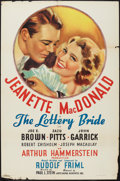 """Movie Posters:Musical, The Lottery Bride (Artcinema, R-1937). One Sheet (27"""" X 41""""). Musical.. ..."""
