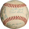 Autographs:Baseballs, 1956 National League All-Star Team Signed Baseball....